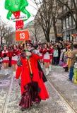 fasnacht Швейцария zuericarneval zurich Стоковое Изображение