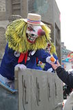 Fasnacht Basel 2011. Is a carnival in Switzerland involving parade, mask, music Stock Photo