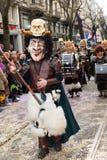fasnacht Switzerland zuericarneval Zurich Obrazy Royalty Free