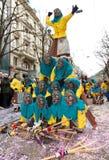 fasnacht Switzerland zuericarneval Zurich Zdjęcia Stock