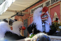 Fasnachtfestival, Bazel stock foto's