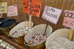 fasola posiłki Tuscan Obrazy Royalty Free