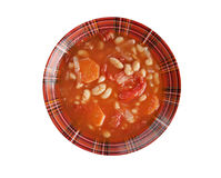 Fasolada.national food of the Greeks Royalty Free Stock Photos