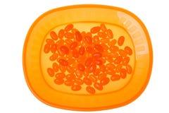 fasole galaretowacieją pomarańcze Zdjęcia Stock