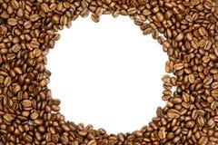 Fasole odizolowywać na białego tła śniadaniowym napoju kawa Zdjęcie Stock