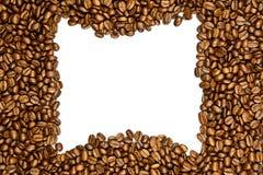 Fasole odizolowywać na białym tle kawa piją pocztówkowego projekta pojęcie Zdjęcia Royalty Free
