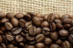 fasoli burlap cofee Fotografia Stock