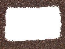 Fasoli cała Kawowa Rama Obrazy Stock