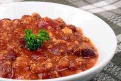 fasoli chili Obrazy Royalty Free
