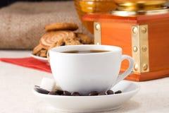 fasoli cofee ostrzarza cukierki Obrazy Royalty Free