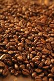 fasoli coffe tekstura wznosząca toast Zdjęcia Stock