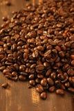 fasoli coffe tekstura wznosząca toast Obrazy Stock