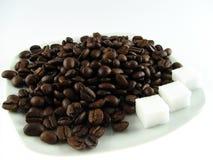 fasoli kawę Zdjęcie Royalty Free