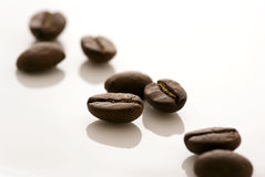 fasoli kawa espresso Obraz Stock