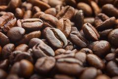 fasoli kawa piec tekstura Zdjęcia Stock