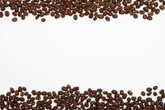 Fasoli kawowa rama Obraz Royalty Free