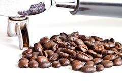 fasoli kawowego filtra właściciel zdjęcie stock