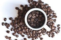 fasoli kawy kawa espresso Fotografia Royalty Free
