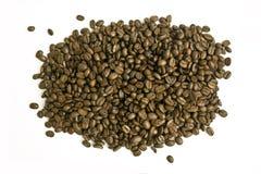 fasoli kawy stos Obraz Stock