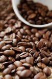 fasoli kawy stos Fotografia Stock