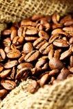 fasoli kawy worek Obraz Stock