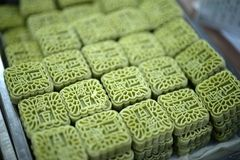 fasoli torta zieleni pasta Zdjęcia Stock
