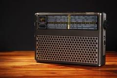 fasonujący stary radio Zdjęcia Royalty Free