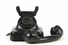 fasonujący stary telefon Obrazy Royalty Free