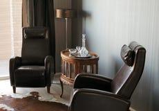 fasonujący stary pokój Obrazy Royalty Free