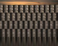 Fass-Öl Stockfotos