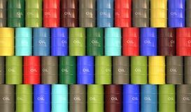 Fass-Öl Stockbild