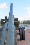 Fass Artilleriewaffen Stockbild