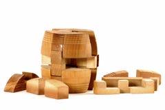 Fass-Puzzlespiel Stockbilder