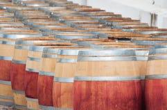 Fass Wein, Stellenbosch, Westkap, Südafrika Stockfotos