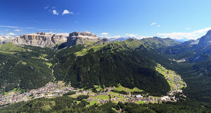 Fassa Valley - Val di Fassa Royalty Free Stock Image