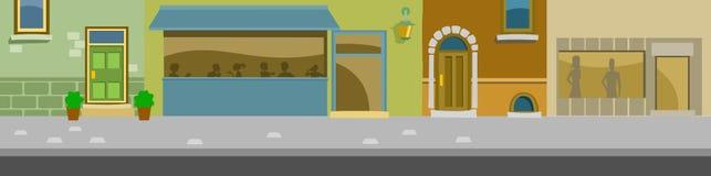 Fassade Lizenzfreies Stockbild