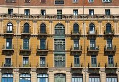 Fassade stockfoto