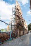 Fassade Cartagena Spanien Lizenzfreie Stockbilder