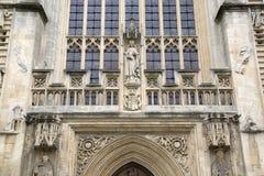 Fassade der Abtei, Bad Stockbilder