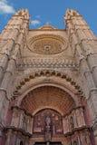 Fassade der Kathedrale von St Mary, Majorca Lizenzfreie Stockbilder