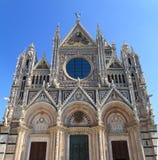 Fassade der Siena-Haube lizenzfreies stockbild