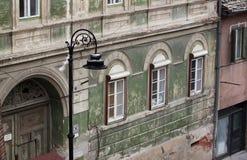Fassade des alten Hauses Lizenzfreie Stockfotografie