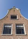 Fassade des alten Hauses Blokzijl Lizenzfreies Stockfoto