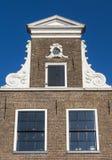 Fassade des alten Hauses, Blokzijl Stockfotos