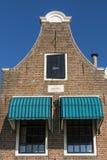 Fassade des alten monumentalen Hauses Blokzijl Lizenzfreie Stockbilder