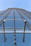 Fassade des Burj Khalifa in Dubai, Welthöchstes Gebäude lizenzfreie stockfotografie