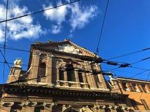 Fassade des chiesa del Voto von Modena, in der Stadt von Modena lizenzfreie stockfotos