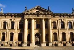 Fassade des Clarendon Gebäudes, Oxford Stockbilder