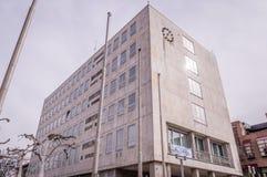 Fassade des Gaggenau-Rathauses, Deutschland lizenzfreie stockbilder