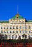 Fassade des großen der Kreml-Palastes. Stockbilder